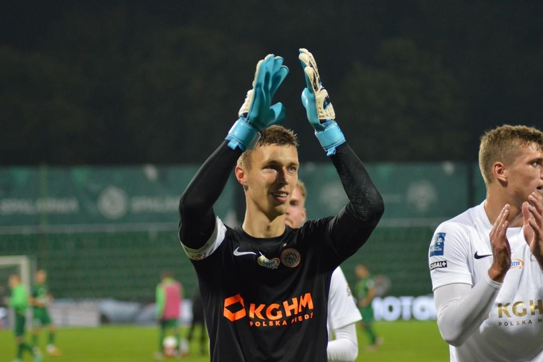 Trzecie ligowe zwycięstwo z rzędu   Raport: Warta Poznań 0:2 Zagłębie Lubin