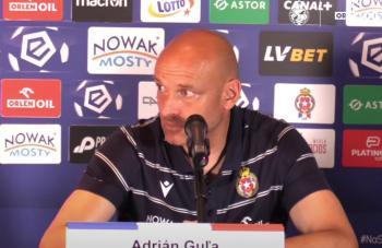 Adrian Gula: Muszę docenić to, że wygraliśmy ten mecz z czystym kontem
