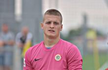 Bartosz Matoga trenuje z pierwszym zespołem